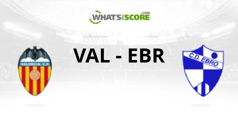 Валенсия — Эбро 4 декабря, футбольный матч